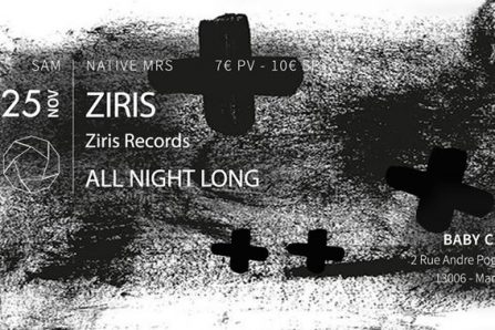 Mrs ZIRIS (Ziris Records) @ Le Baby - 25/11/2017