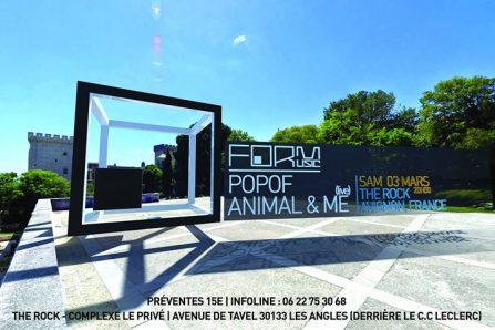 FORM Music Showcase, Avignon w/ POPOF, Animal & Me live, Nico Reno, Mr et Mme Benoit – Start 20h @ the rock  Avenue de Tavel, 30133 Les Angles, France - 03/03/2018