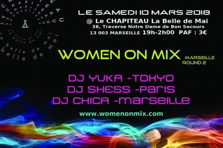 Women On Mix @ Le Chapiteau – la belle de mai - 10/03/2018