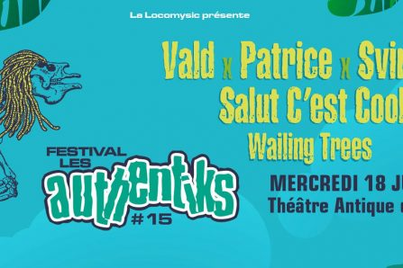 Festival Les Authentiks #15 @ Théatre antique - 18/07/2018