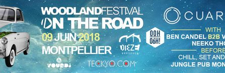 On the Road : Cuartero & More @ DIEZE Warehouse – Montpellier - 09/06/2018