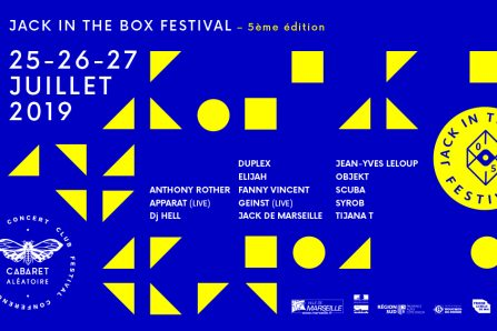 Jack in the Box festival 2019 @ Cabaret Aléatoire - 25/07/2019