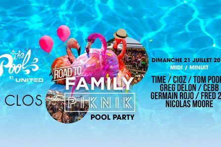 Pool Party Family Piknik x Le Clos @ Le Clos - 21/07/2019