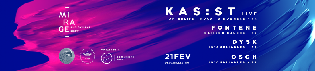 Club Cabaret x IN'OUBLIABLES : Kas:st Live + Guests